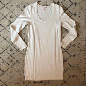 Victoria's Secret White Sweater Dress Size Medium
